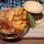 Two mains for £10 lunch menu - burger