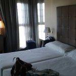Room with corner window