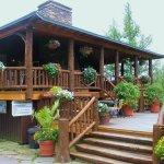 Entering Moose Lodge Boathouse Restaurant