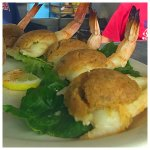 Baked stuffed shrimp - gram's recipe