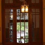 Puerta de ingreso, desde el interior