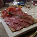 Starter: Tuscan meats