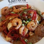 Shrimp and grits - amazingly delicious!