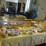 Table des ingrédients à choisir pour le petit déjeuner
