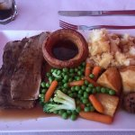 Lovely Sunday dinner from Laurel and Hardy's