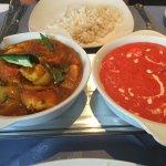 Chicken Tikka Masala and Chicken Madras