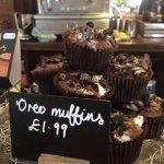 Homemade Oreo Muffins