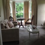 Sitting room in Pumphouse suite in main house