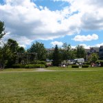 A view of the Village Green in Bar Harbor.