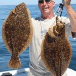 Great Block Island fluke fishing .