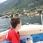 Cruising Lake Como