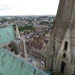 la cathédrale et sa ville