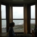 Wonderful to wake and open the curtain to a floor to ceiling window with perfect sea views