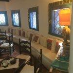 Il ristorante e le zone dell'hotel bazar