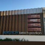Restaurants opposite Burleigh Beach Tourist Park