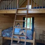One of the newer cabins, great for families