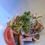 Entrée (salade strasbourgeoise)