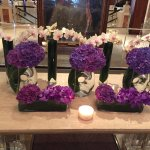 Beautiful Lobby Flowers