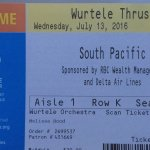 South Pacific atthe Guthrie Theater, July 13, 2016