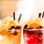 Iced Just Peachy Tea & Iced Southbrook Berry Tea