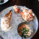 King crab - small plates; tapa style menu