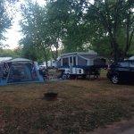 Toujours risqué de réserver un camping sans référence directe... Nous sommes tout simplement  to