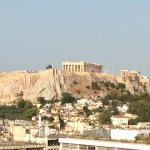 View of Acropolis from GB Rooftop Restaurant & Bar