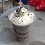 Lemonjello's - Oreo Cookie Milk Shake with whipped cream