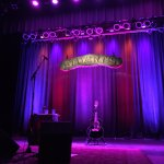 Stage at Stuart's and Todd Snider's highly complicated gear.