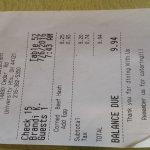 Brandi K - receipt