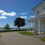 View of Charlottetown Harbour from the PEI Lieutenant Governor's House