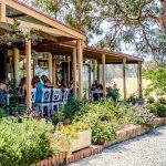 Enjoy lunch on the verandah