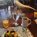 Breakfast always began with fresh fruit
