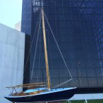 JFK's Victura Sailboat.  A man may die, nations may rise and fall, but an idea lives on.