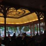 Sunroom dining area