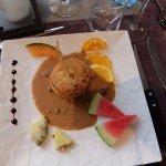 Kalbsbries in Auflauf und an einer Morchelsauce