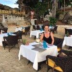 Beach restaurant was superb