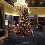Hotel Main Lobby Christmas Tree