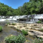First of the falls a Burgess Falls
