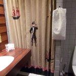 klein maar mooi schoon, heerlijke douche