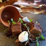 dessert at Ravenswood Hall Hotel