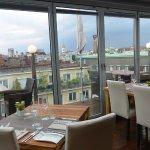 """Restaurante """"Septimo Cielo"""" en la cubierta del Hotel"""