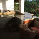 private balcony and private pool