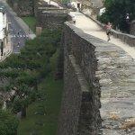 Muros exteriores de la muralla
