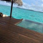 eigener Pool auf der Terrasse