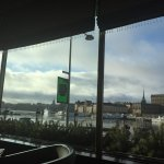 the view with breakfast