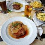 Steakgericht