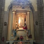 A little chapel of Our Lady of Guadalupe
