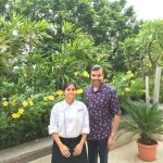 With Bakery Chef Padmavati