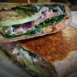 Come check out our new wraps and new gluten free menu! ~ Ideal Cafe